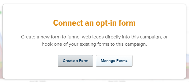 Connect an opt-in form