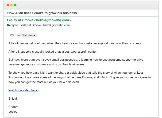 how i would grow groovehq