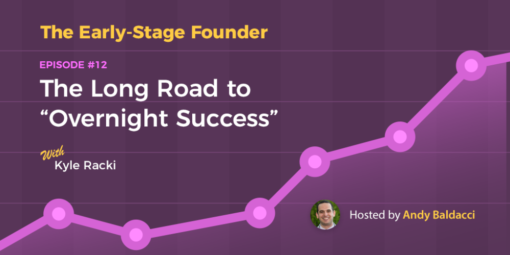 "Kyle Racki on The Long Road to ""Overnight Success"""