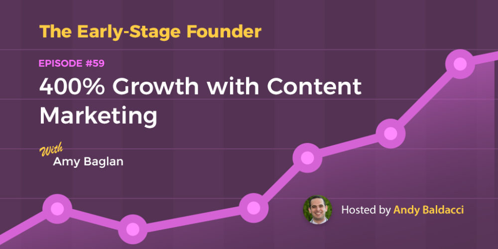 Amy Baglan on 400% Growth with Content Marketing